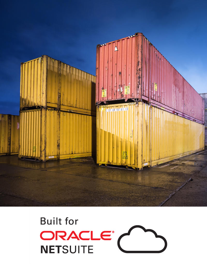 AVT Container Management Solution on NetSuite Banner
