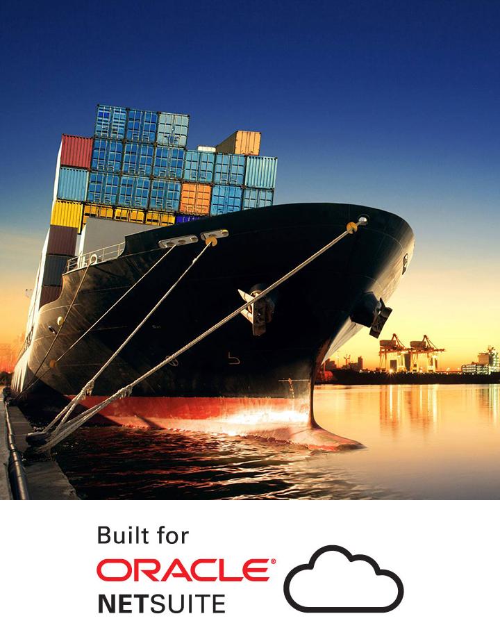 AVT SmartFreight Shipping Management Solution on NetSuite Banner