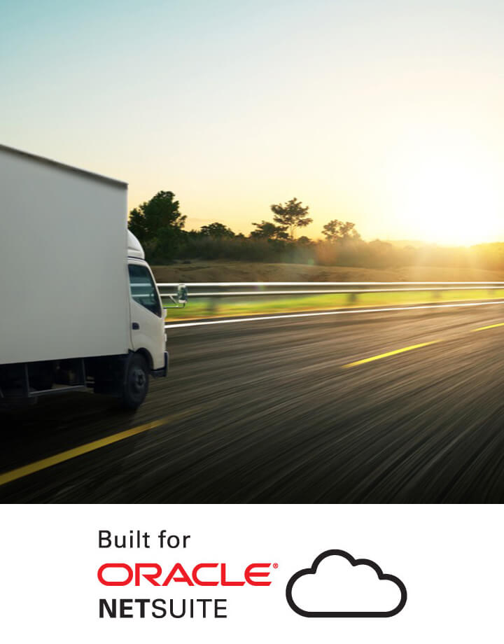 AVT SmartFreight Shipping Management Solution on NetSuite Banner