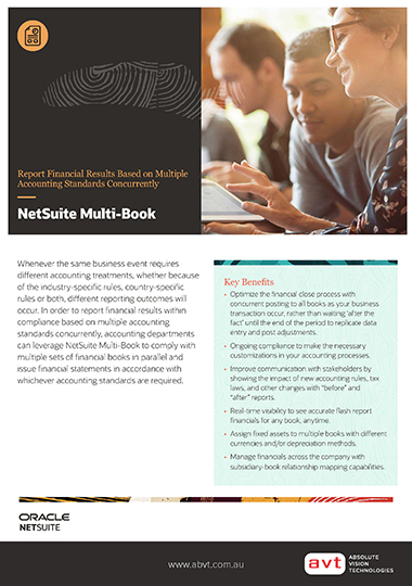 NetSuite - Multi-Book Accounting DS