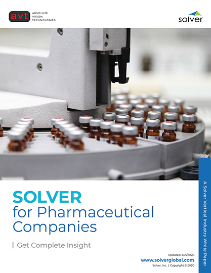 AVT Industry - Solver for Pharmaceutical Companies