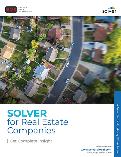 AVT Industry - Solver for Real Estate Companies