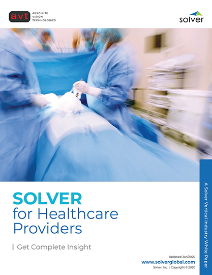 AVT Industry - Solver for Healthcare Providers