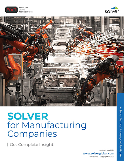 AVT Industry - Solver for Manufacturing Companies