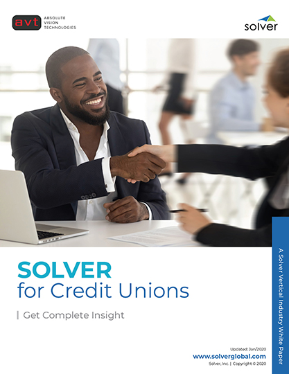AVT Industry - Solver for Credit Unions