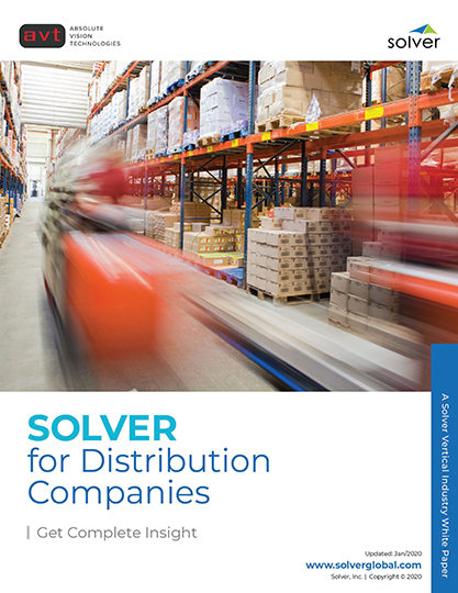 AVT Industry - Solver for Distribution Companies