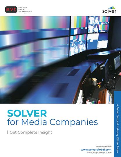 AVT Industry - Solver for Media Companies