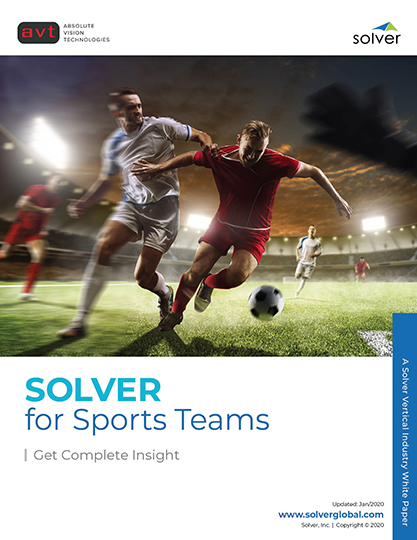 AVT Industry - Solver for Sports Teams