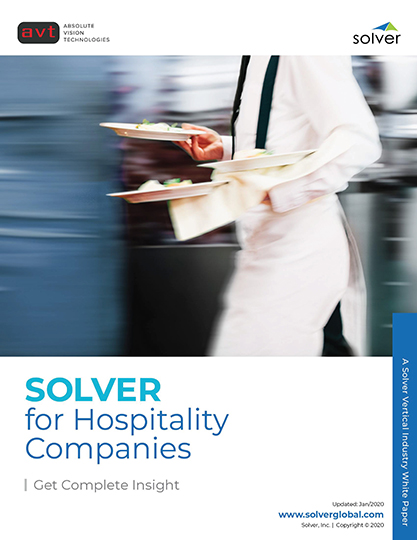 AVT Industry - Solver for Hospitality Companies