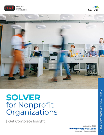 AVT Solver for NonProfits