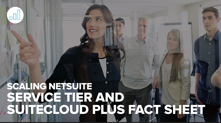 Service Tier SuiteCloud Plus Fact Sheet