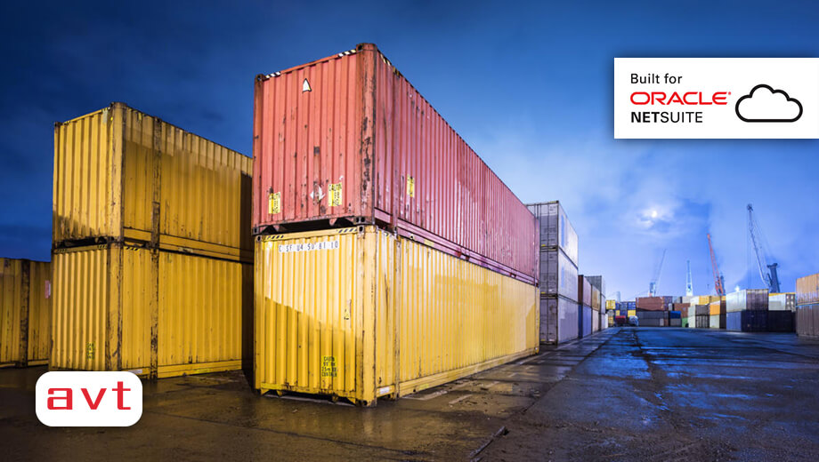 AVT SuiteApp - Container Management Solution on NetSuite