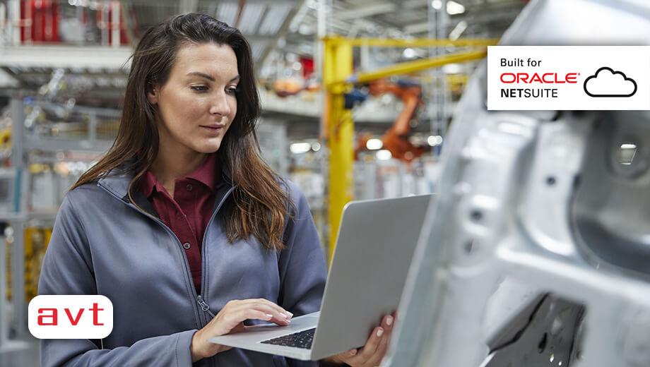 AVT SuiteApp - AVT Manufacturing Solution for NetSuite