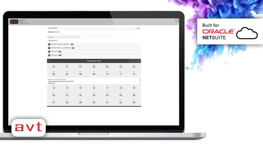 AVT SuiteApp - AVT Project Time Tracking for NetSuite