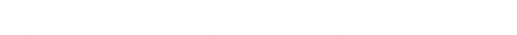 Oracle NetSuite - Logo 2021 White