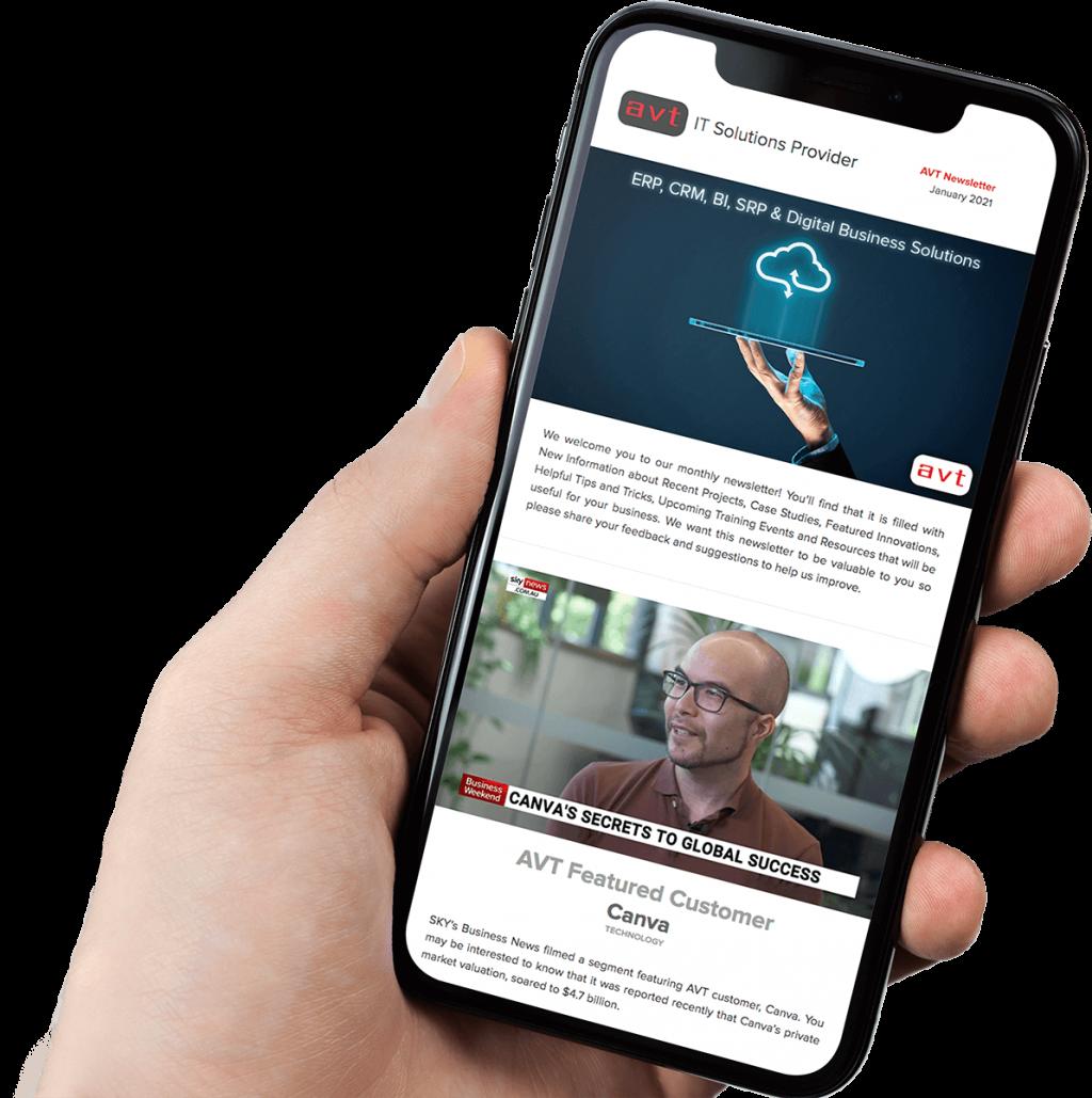 AVT Newsletter Mobile